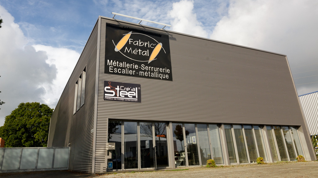 Façade des locaux de Fabric Métal