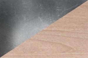 Texture acier/bois