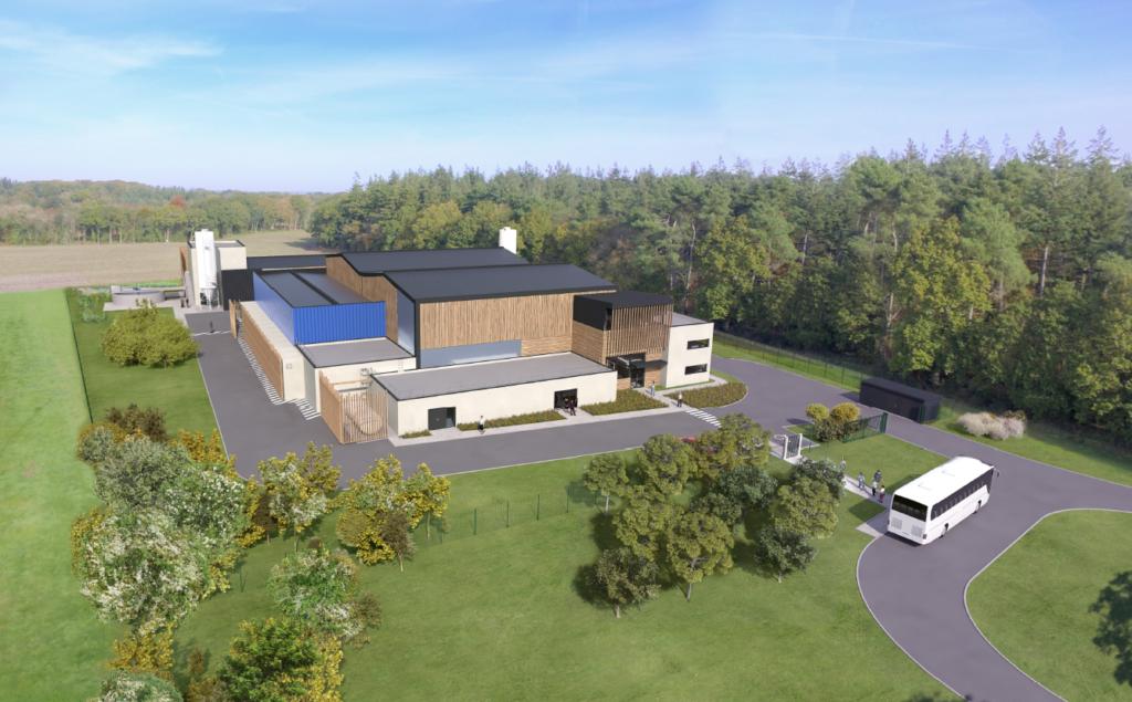 Projet usine de traitement de l'eau (Treauray)