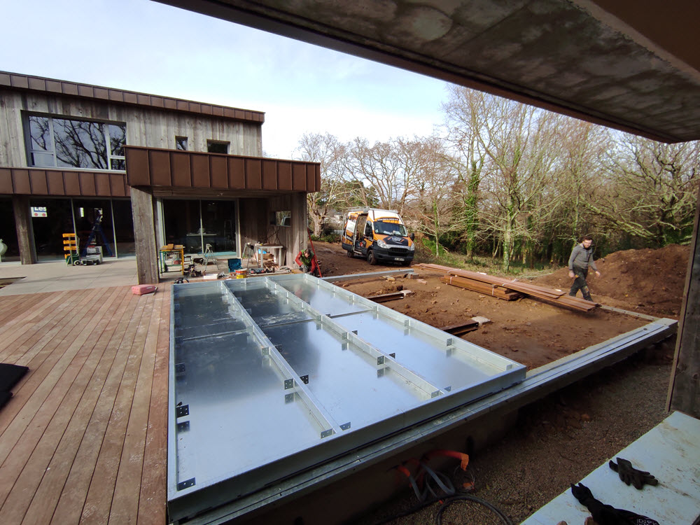 Travaux d'installation terrasse à Vannes