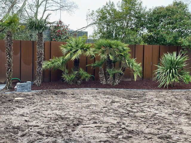 Un clôture qui se fond dans le paysage